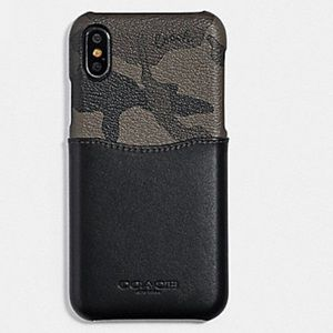🆕 Coach IPhone X/XS Case Camouflage